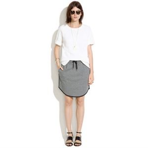 Madewell Sweatshirt Gymnasium Skirt